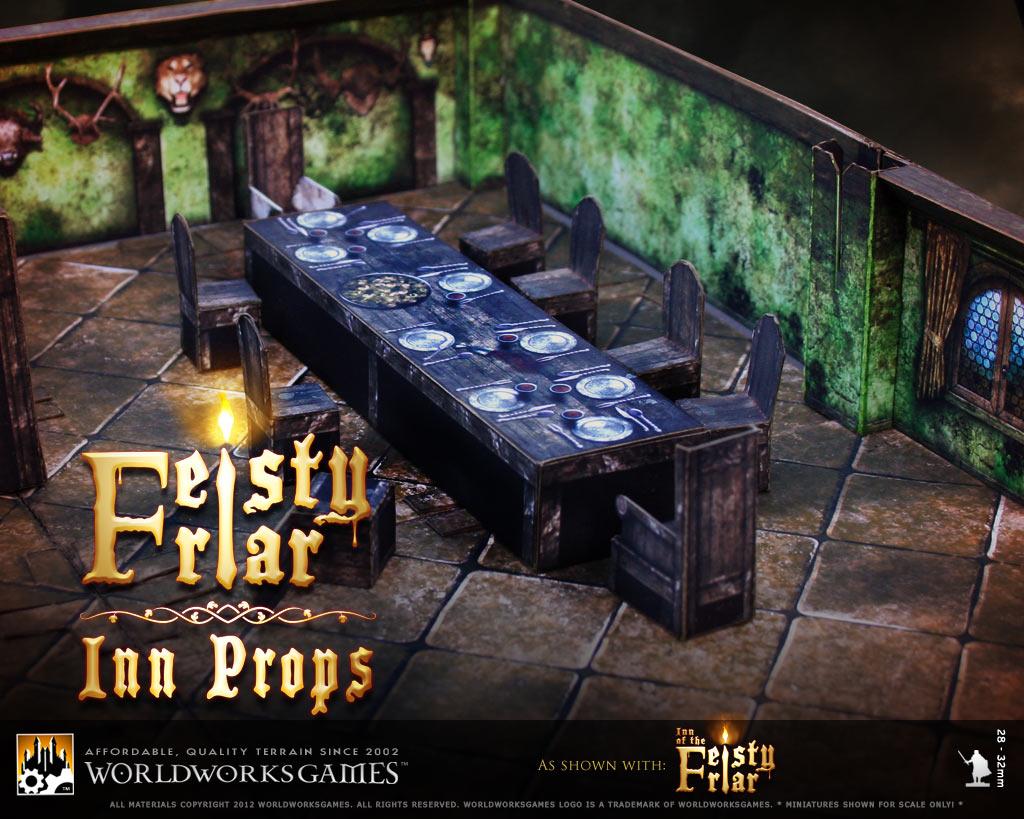WorldWorksGames::Feisty Friar: Inn Props