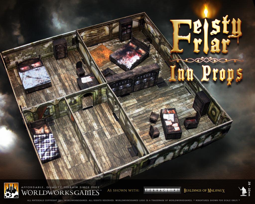 Worldworksgames Feisty Friar Inn Props