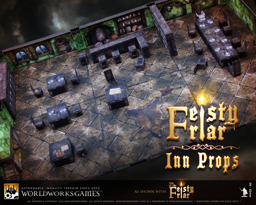 Worldworksgames Feisty Friar Inn Props